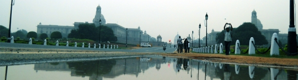 Towards President Palace, New Delhi