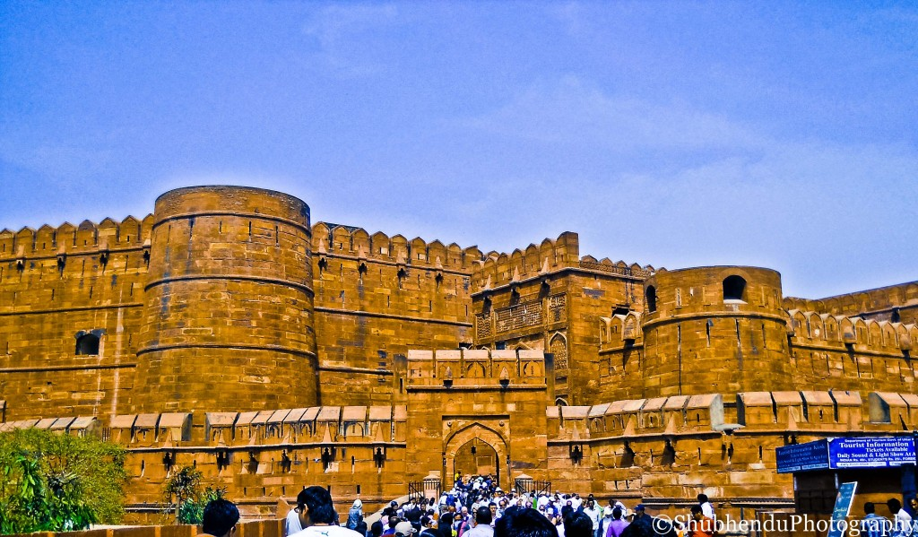 Agra Fort . . .