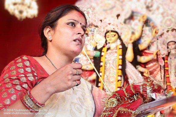 Last day of Durga Puja ...