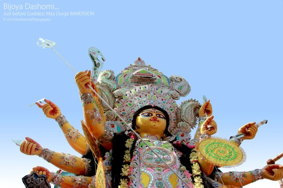 Bijoya Dashomi... Just before Goddess Maa Durga IMMERSION © 2014 ShubhenduPhotography