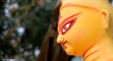 making of goddess... f5.6, exposure:1/125, ISO-400, focal length:135mm, aperture:5, No Flash
