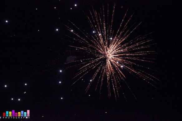 fire works at Kali Mandir, C.R. Park  Dated: 09-11-2015